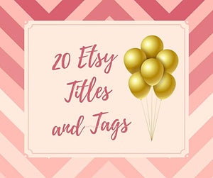 etsy titles and tags