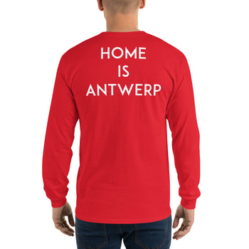 Home Is Antwerp - Long Sleeve T-Shirt - Antwerp Only