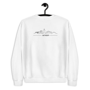 Antwerp Skyline Back Sweater - Antwerp Only