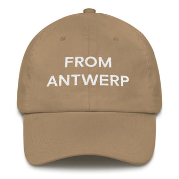From Antwerp - Dad hat - Antwerp Only