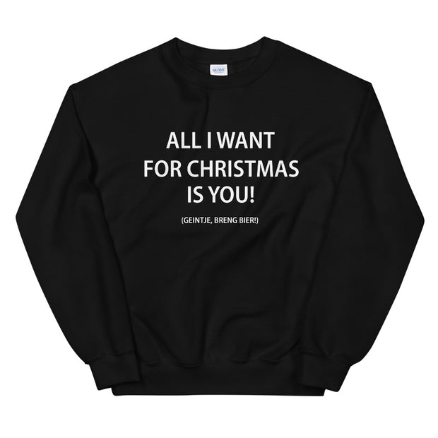 All I want for Christmas is you - Kerst