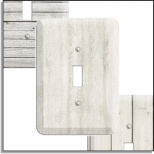 faux wood Switchplates