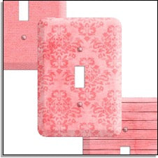 Soft Coral Wallplates