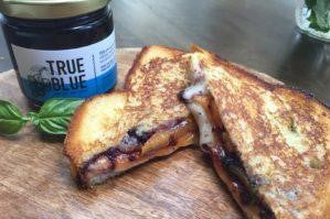 Grilled Brie Cheese Sandwiches with Jam 11
