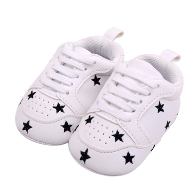 Star Print First Walkers