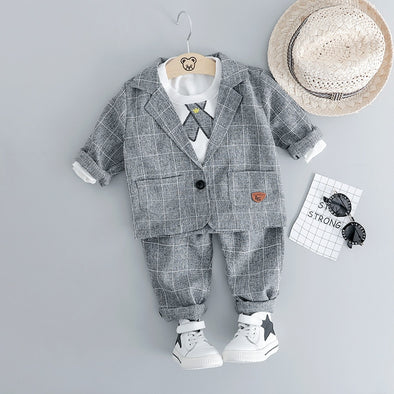 Plaid Formal Set