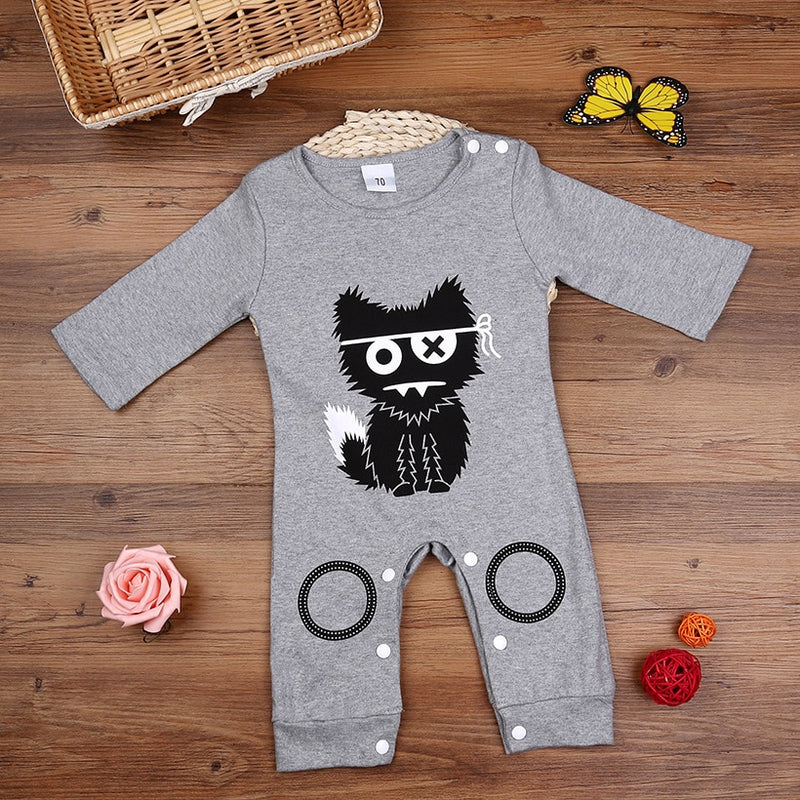 Pirate Cat Romper