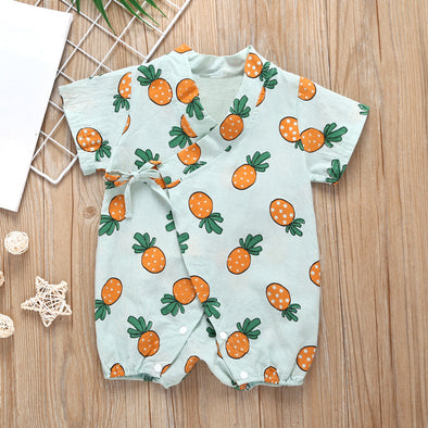 Pineapple Summer Rompers
