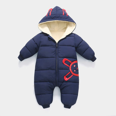 Hooded Winter Overalls