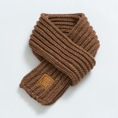 Nude Knitted Warm Scarf