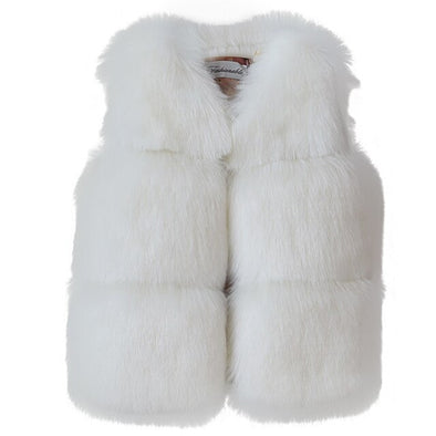Fashionable Faux-Fur Vest