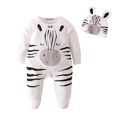 Zebra Jumpsuit Set