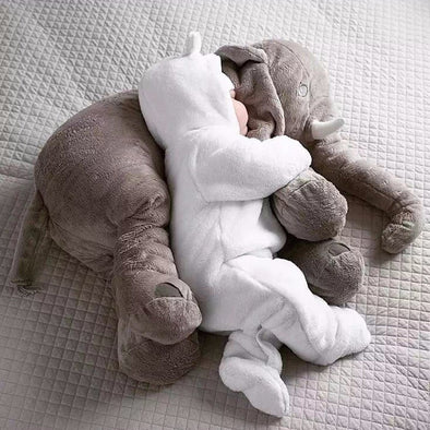 Plush Elephant Cushion