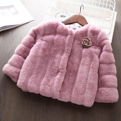 Fur Rose Coat