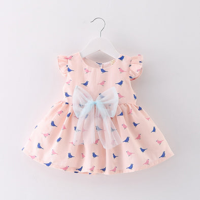 Birds Summer Dress