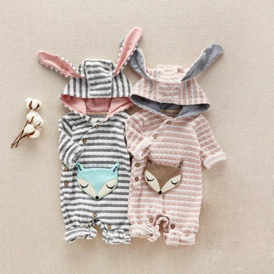 Sleeping Fox Romper