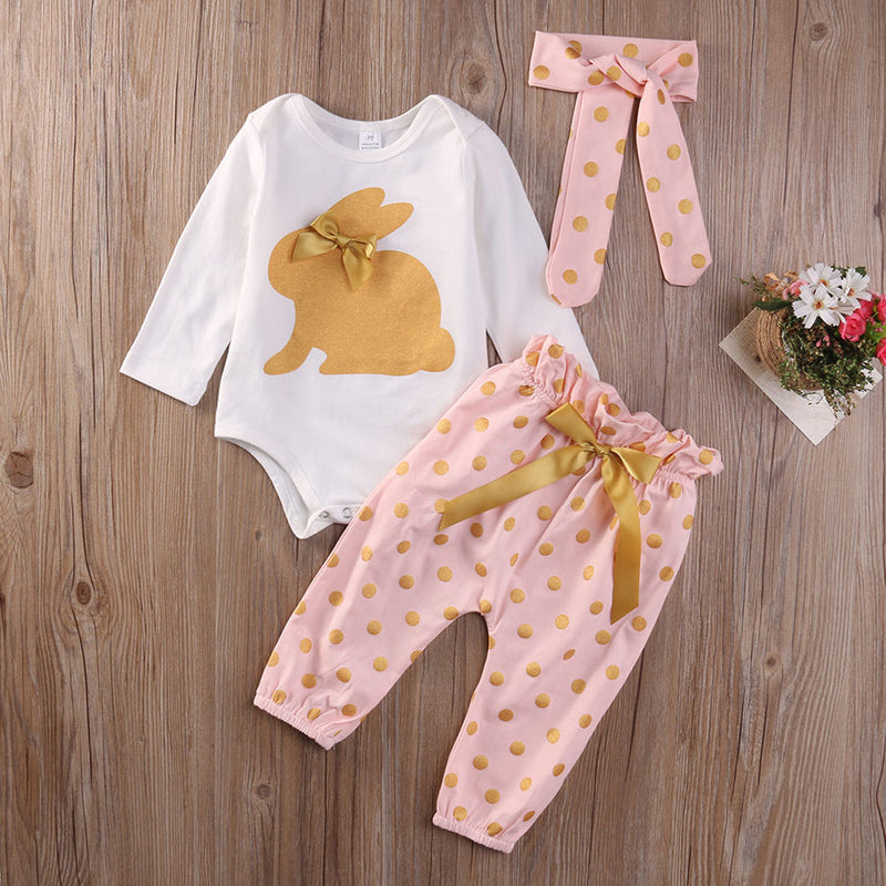 Golden Rabbit Set