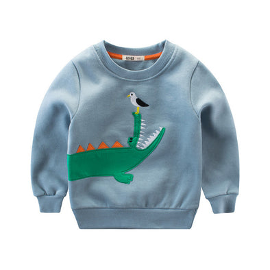 Cool crocodile Pullover