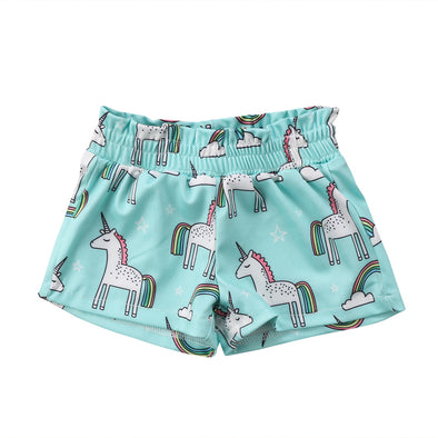 Cute Unicorn Shorts
