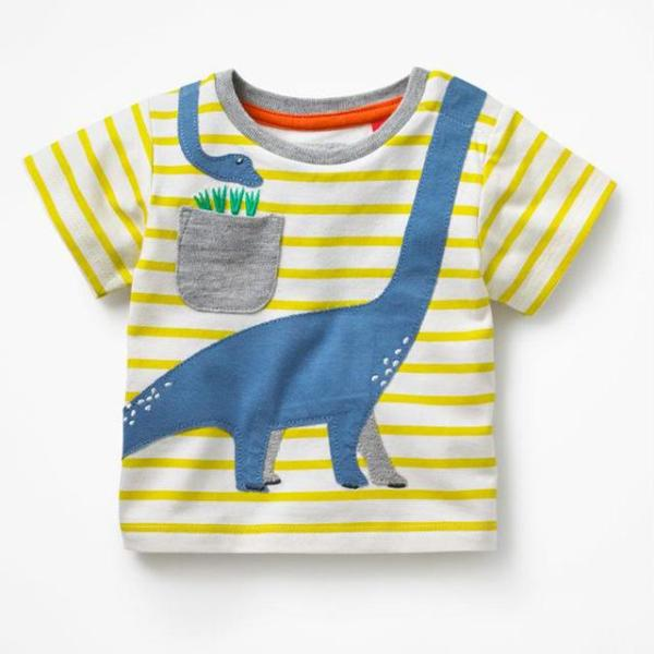 Striped Baby Boy T-Shirt
