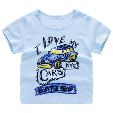 I love my cars T-shirt