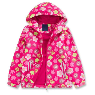 Flowers Hooded Jacket