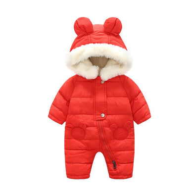 Quilted Winter Overall