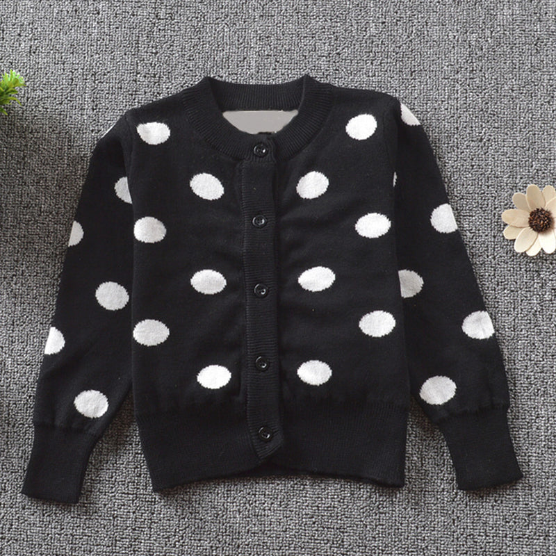 Lovely Dotted Cardigan