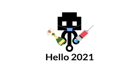 🥳 Welcome to 2021! 💉