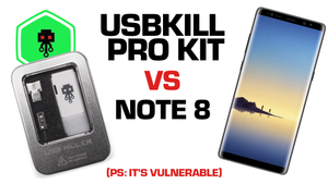 USBKill 3 Pro Kit vs Samsung Note 8