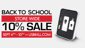 Annual Back To School Special: Save up to 20%!
