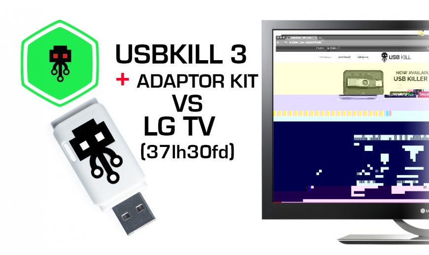 USB Killer v3 VS LG TV