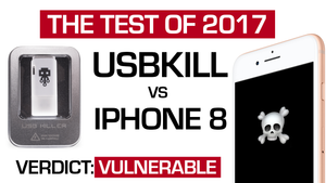 최후의 결전: USB Kill vs iPhone 8