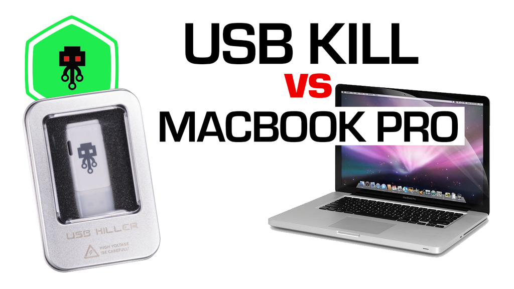 USB Killer vs MacBook Pro (2010)