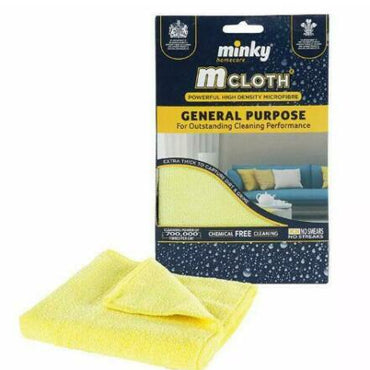 Minky M Cloth General Purpose & Kitchen Cleaning Cloth Assorted