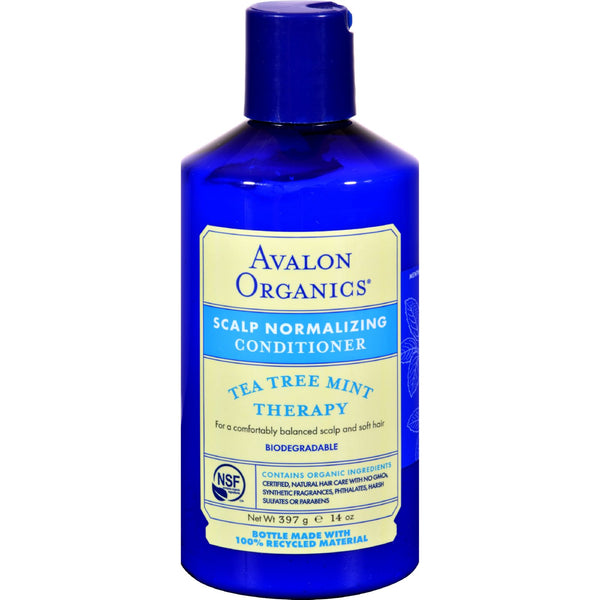 Avalon Organics Treatment Conditioner Tea Tree Mint - 14 fl oz