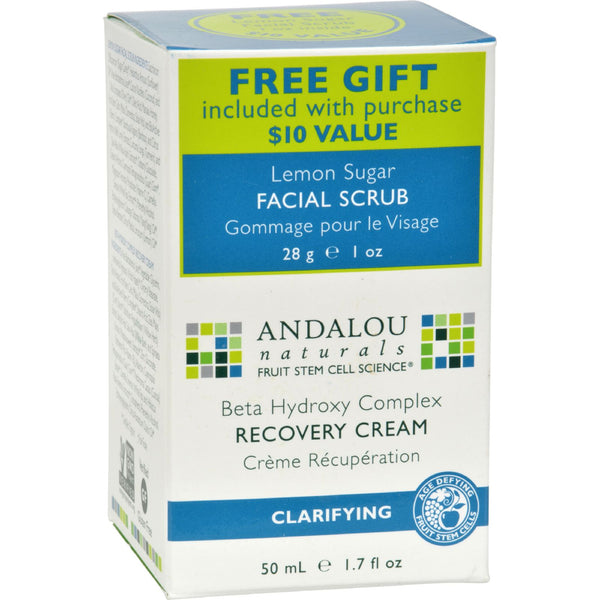 Andalou Naturals Clarifying Clear Overnight Recovery Cream - 1.7 fl oz