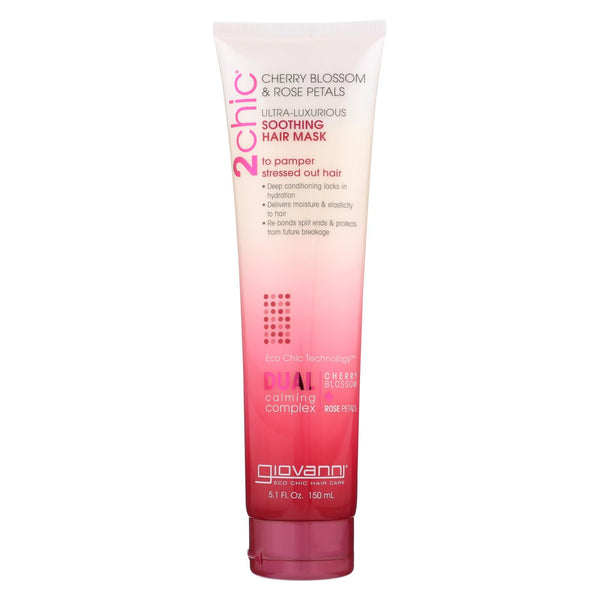 Giovanni Hair Care Products 2Chic - Hair Mask - Cherry Blossom - 5.1 fl oz