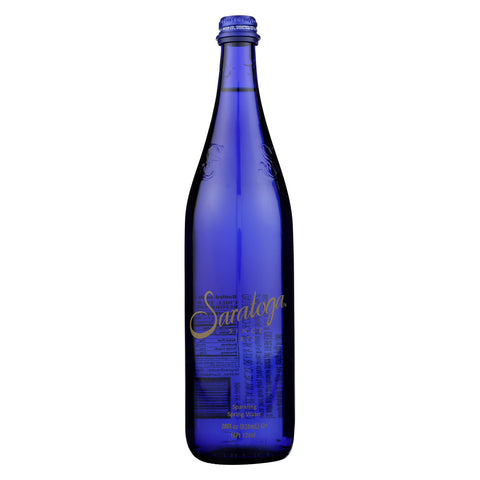 Saratoga Springs Water Sparkling Spring Water - Case of 12 - 28 Fl oz.