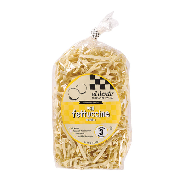 Al Dente - Fettucine - Egg - Case of 6 - 12 oz.