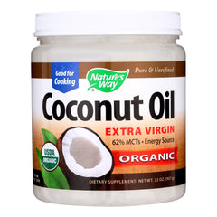 Nature's Way - Coconut Oil - Extra Virgin - 32 oz.
