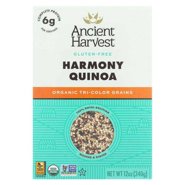 Ancient Harvest Organic Quinoa - Tri-Color Harmony Blend - 14.4 oz
