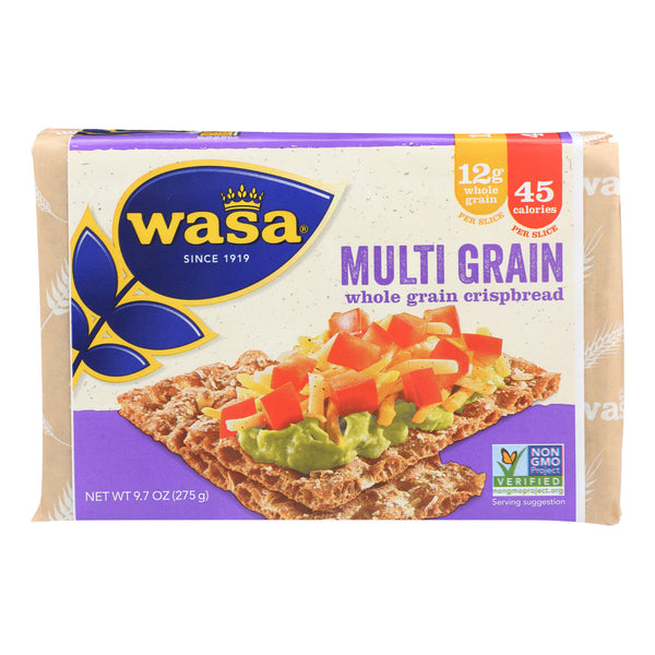 Wasa Crispbread Multigrain - Whole Grain - Case of 12 - 9.7 oz.