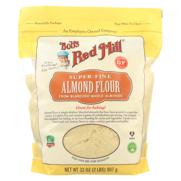 Bob's Red Mill - Flour - Almond - Blanched - Case of 4 - 32 oz