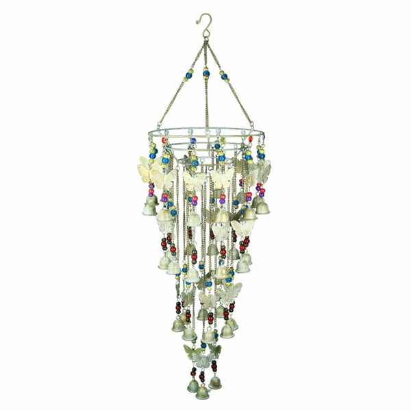 Iron Wind Chime, Multicolor - Benzara