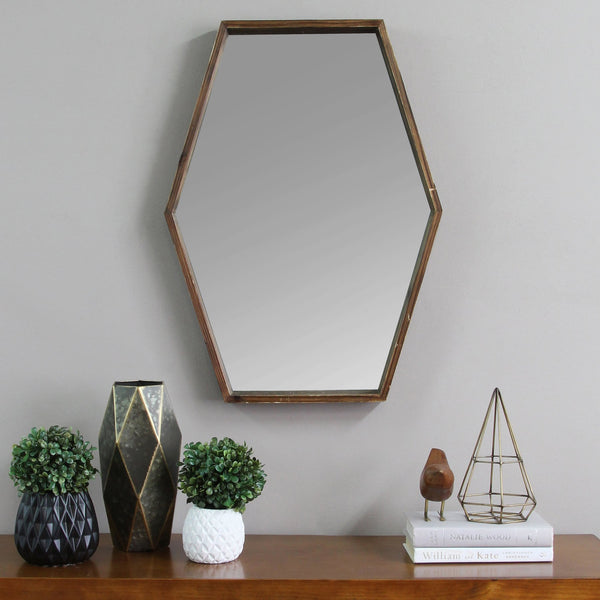 Stratton Home Decor - JoJo Wood Mirror