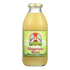 Big Island Organics Gingerade Mate - Case of 12 - 16 oz.