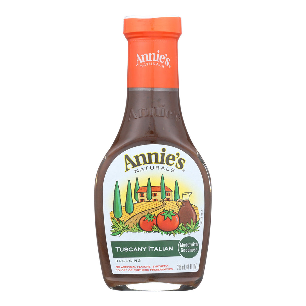 Annie's Naturals Dressing Tuscany Italian - Case of 6 - 8 fl oz.