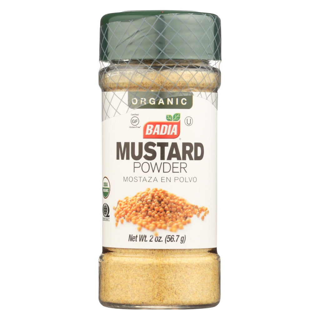 Badia Spices - Organic Mustard Powder - Case of 12 - 2 oz.