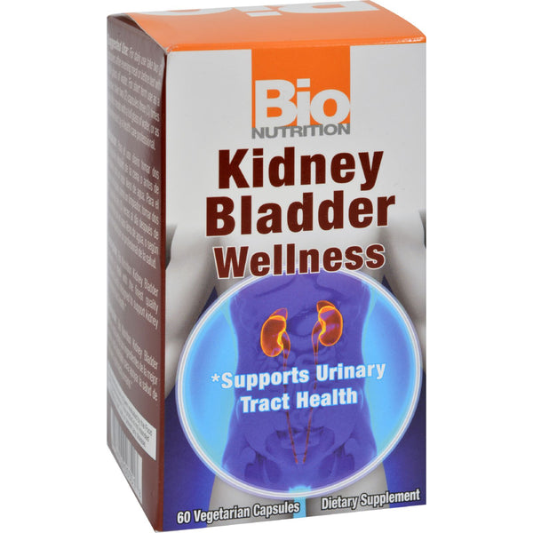 Bio Nutrition Kidney Bladder Wellness - 60 Vegetarian Capsules